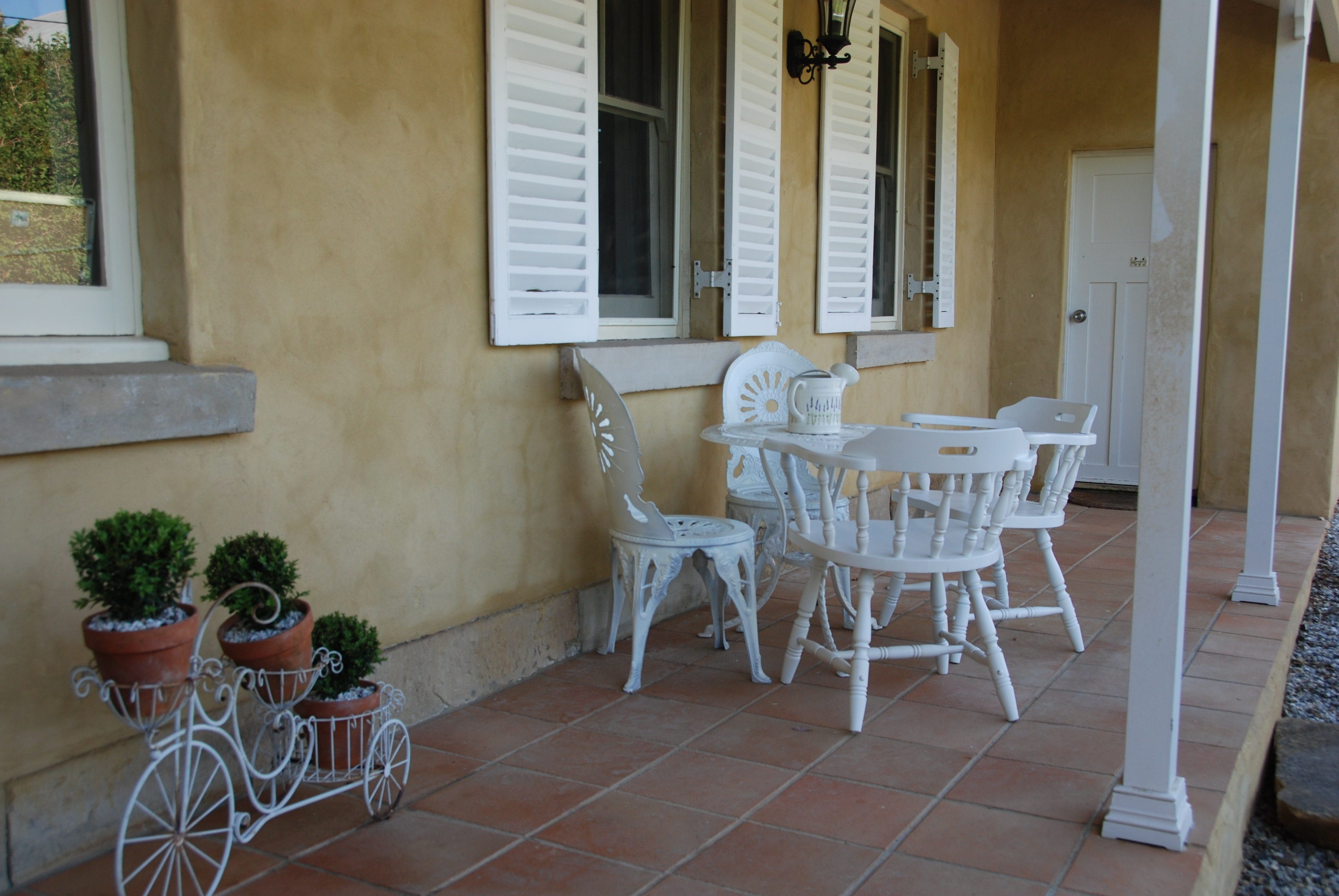 ...or sundowners on the verandah